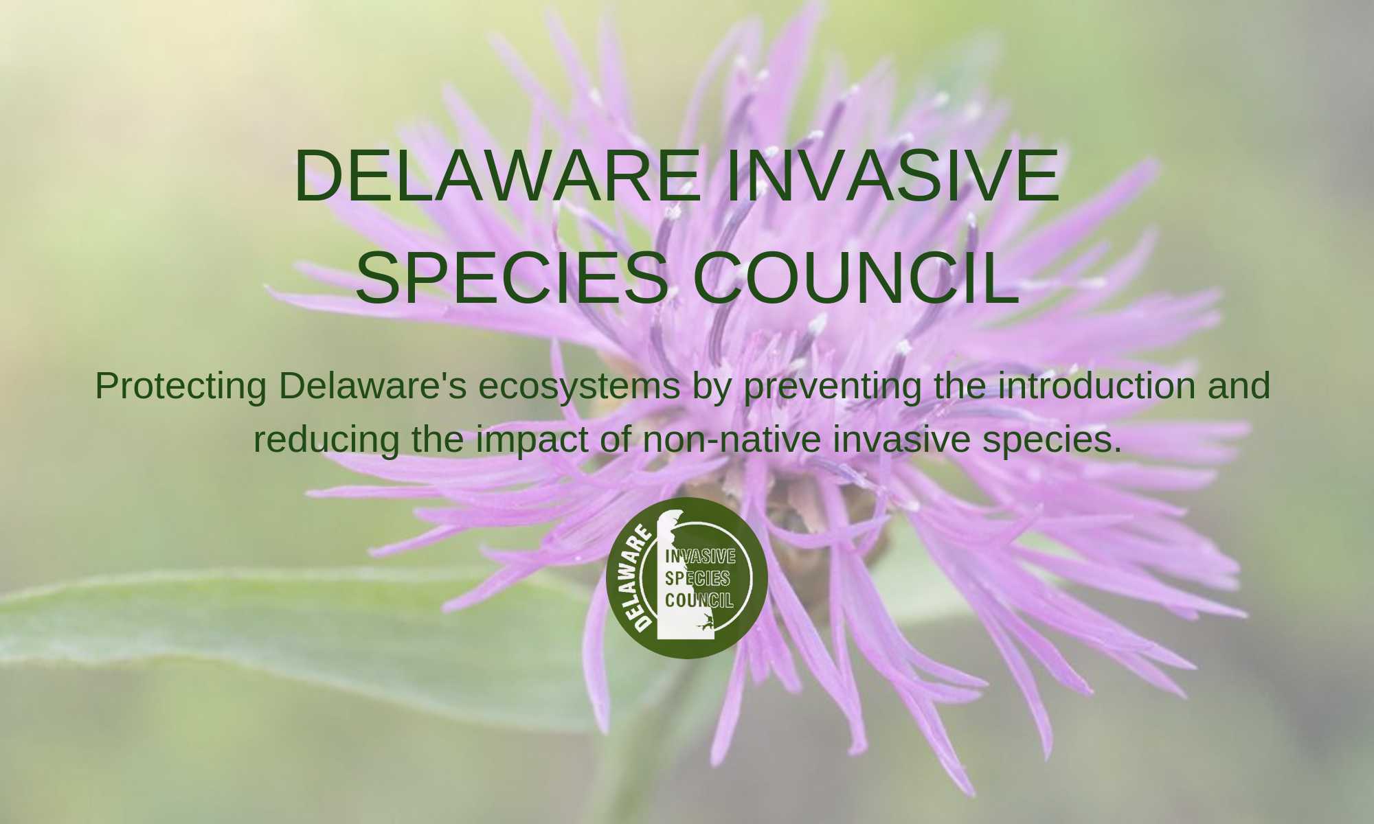 Delaware Invasive Species Council, Inc.